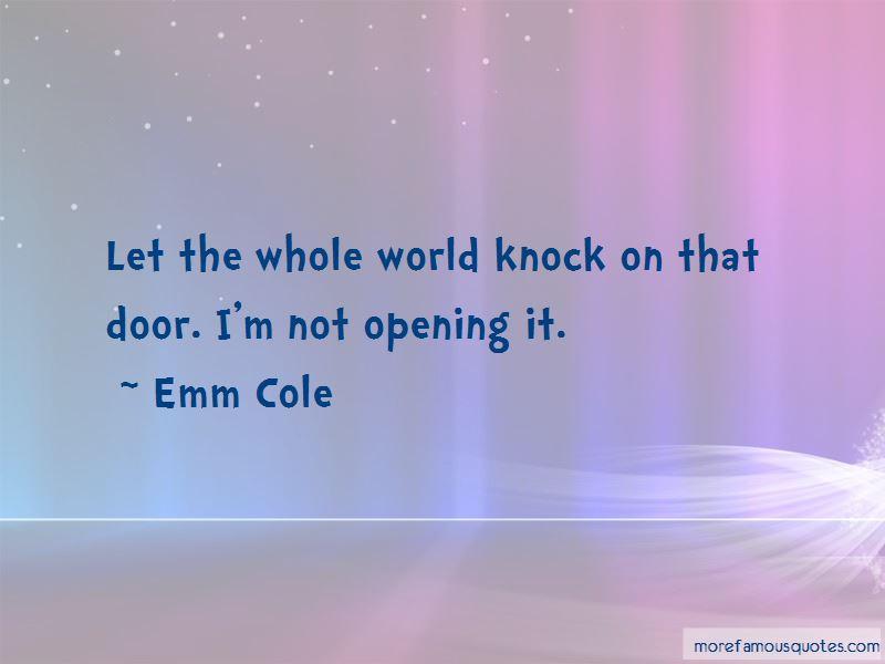 Knock Door Quotes Pictures 4
