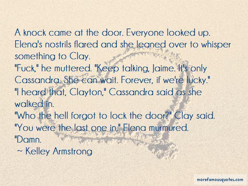 Knock Door Quotes