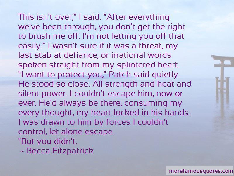 Letting Go Control Quotes