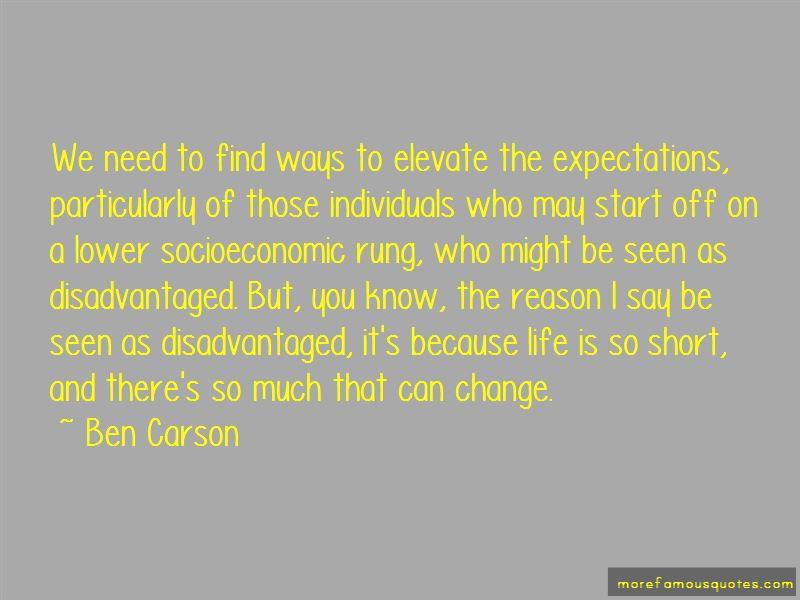 Life Change Short Quotes