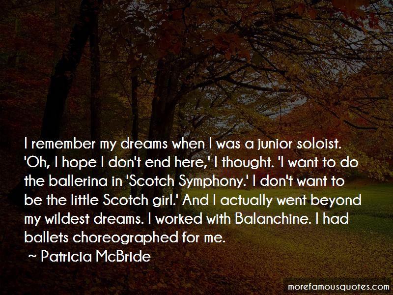 Little Girl Ballerina Quotes