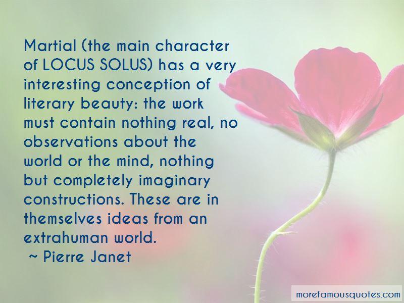 Locus Solus Quotes