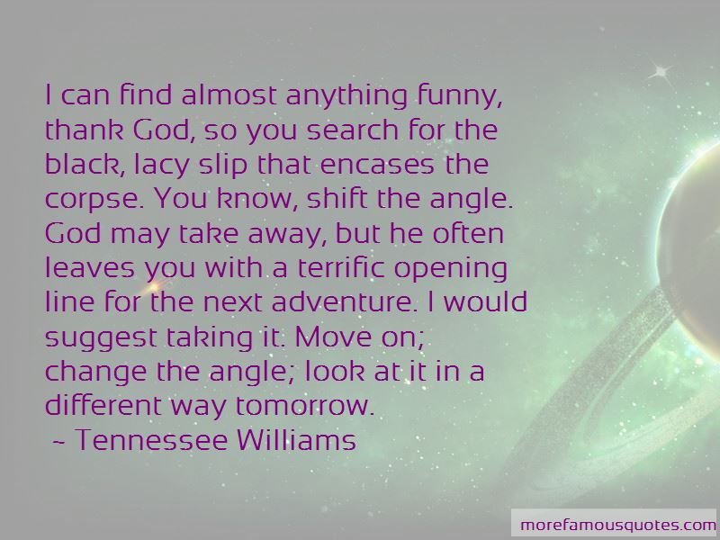 Look For Tomorrow Quotes