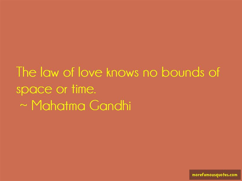 Love Knows No Bounds Quotes