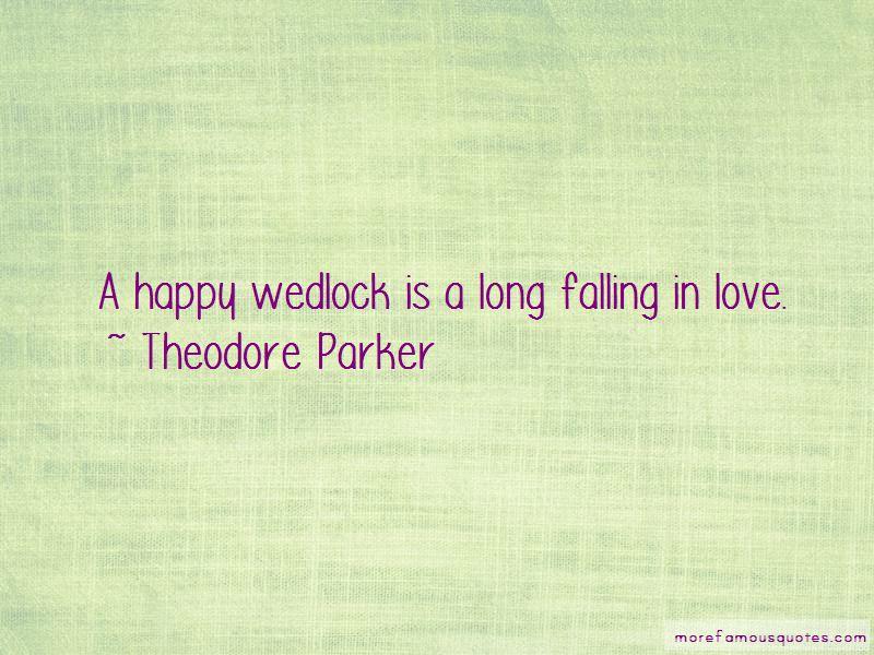 Love Wedlock Quotes