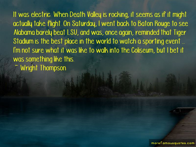 Lsu Death Valley Quotes Pictures 2