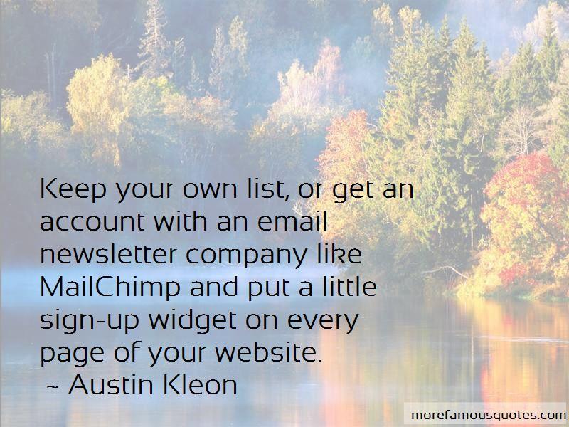 Mailchimp Quotes