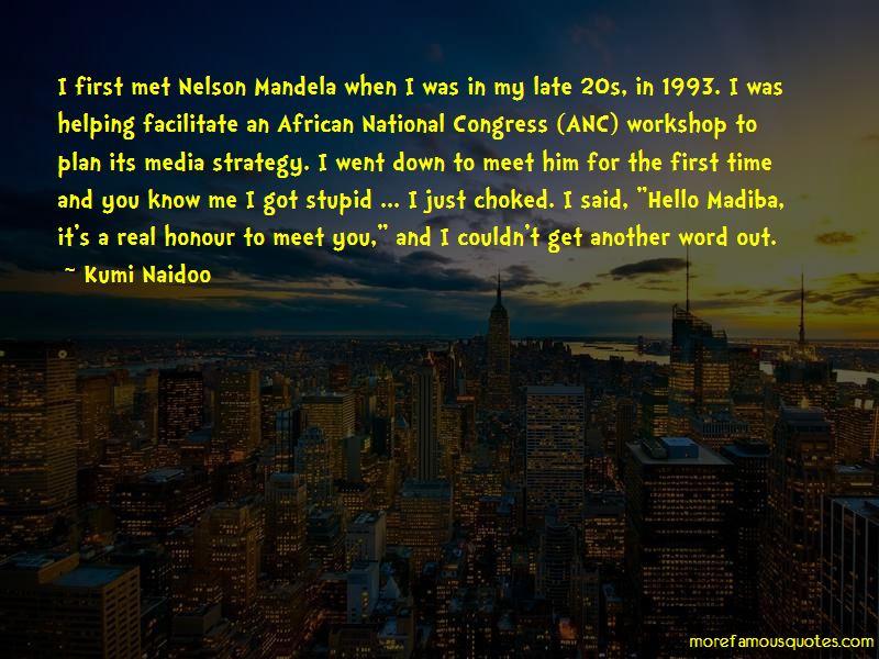 Mandela Anc Quotes