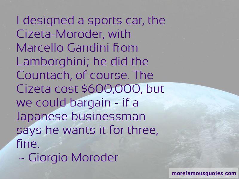 Marcello Gandini Quotes