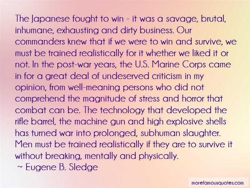 Marine Corps Combat Quotes