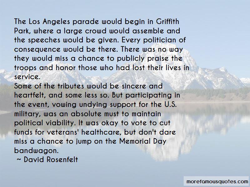 Memorial Day Parade Quotes