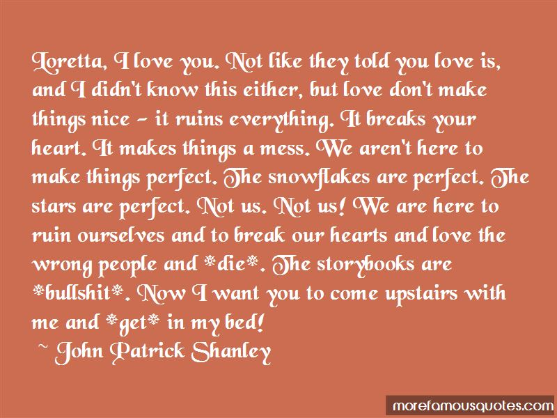 Mess Up Love Quotes
