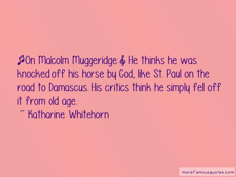 Muggeridge Quotes