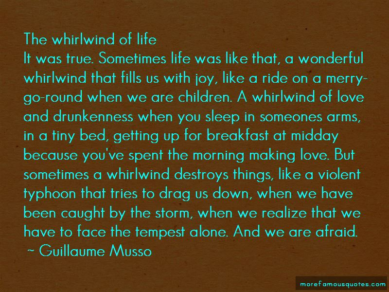 My Life Is Like A Storm Quotes Pictures 4
