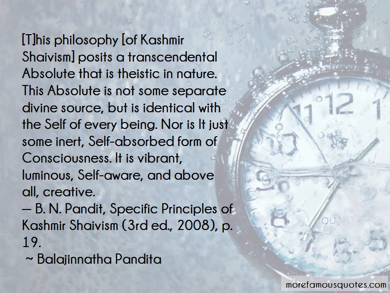 Nature Of Kashmir Quotes