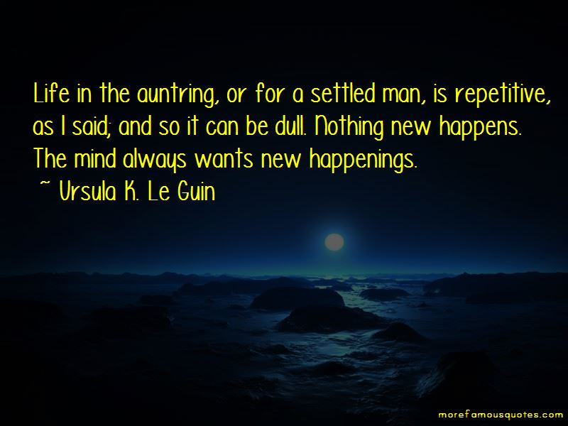 New Happenings Quotes