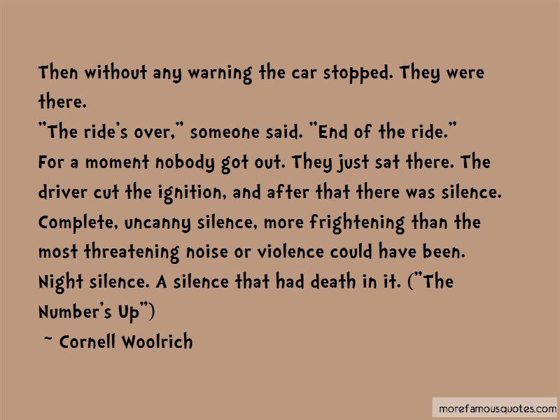 Night Car Ride Quotes
