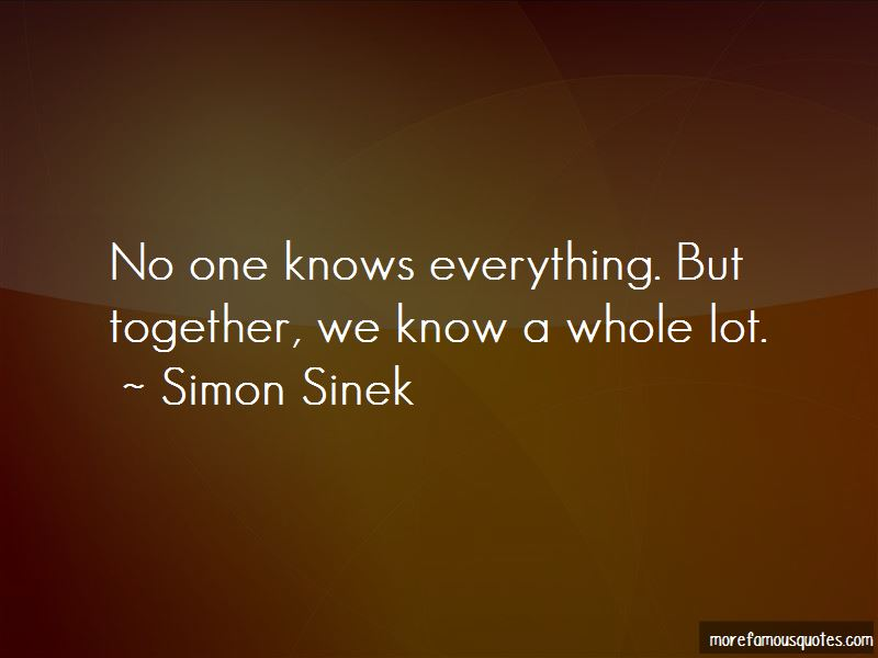 No One Knows Everything Quotes Pictures 2