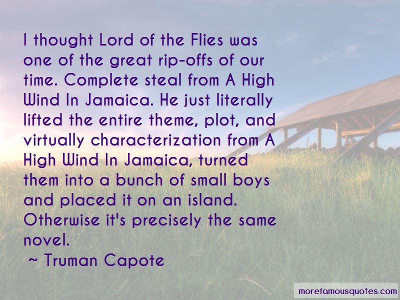 Novel Lord Of The Flies Quotes