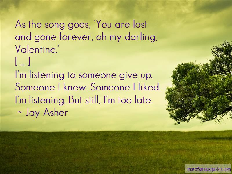 Oh My Darling Quotes