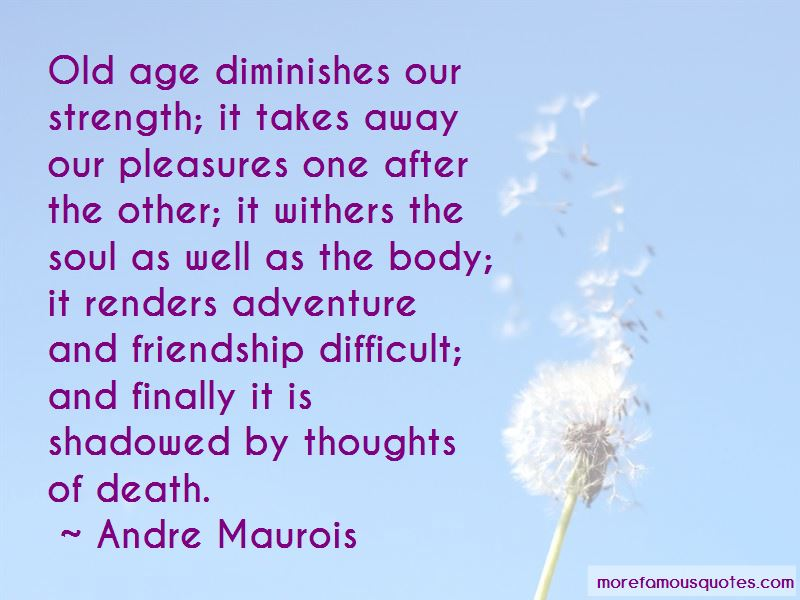 Old Age And Friendship Quotes Pictures 2