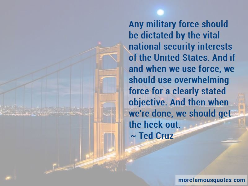 Overwhelming Force Quotes Pictures 4