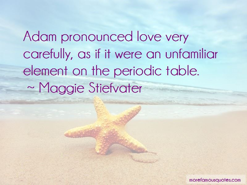 Periodic Table Love Quotes