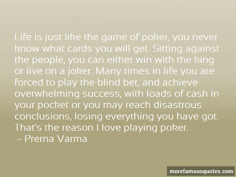 Playing Cards King Quotes