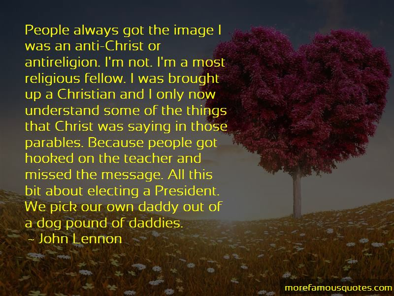 President Anti Religious Quotes