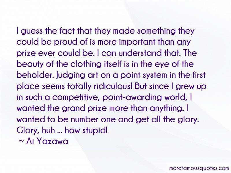 Prize Awarding Quotes