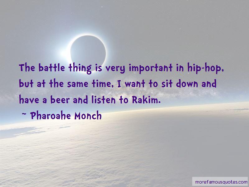 Rakim Hip Hop Quotes