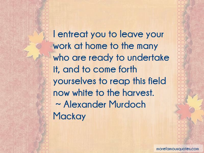 Reap Harvest Quotes
