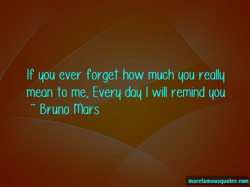 Remind You Quotes