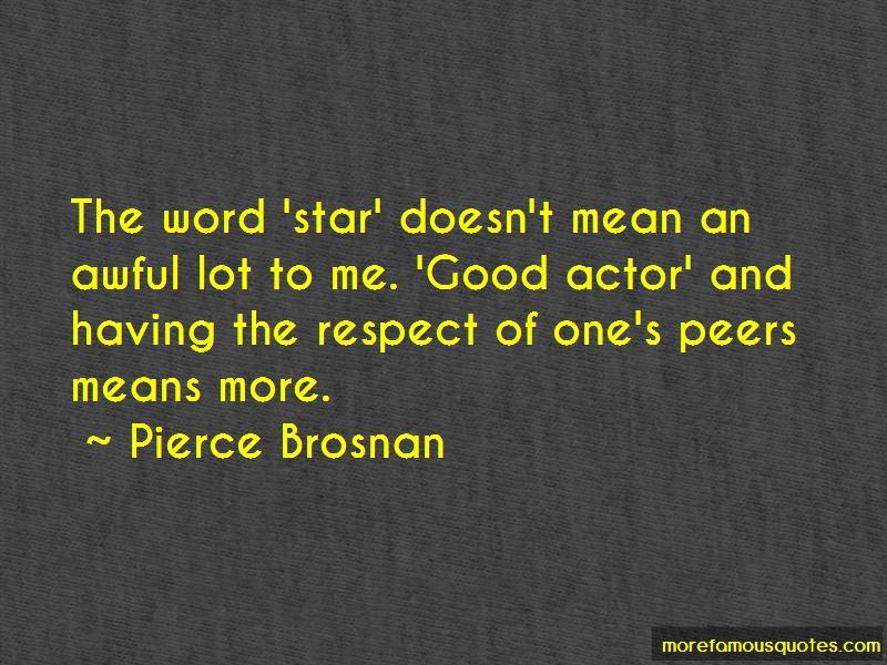 Respect Peers Quotes
