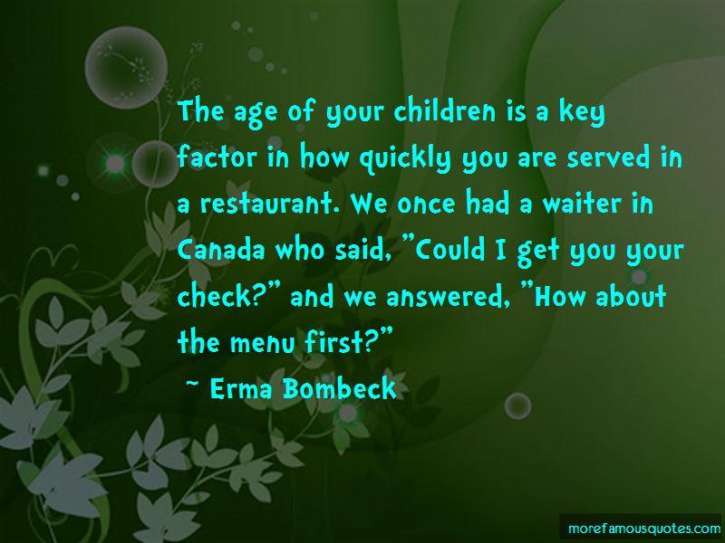 Restaurant Waiter Quotes Pictures 4