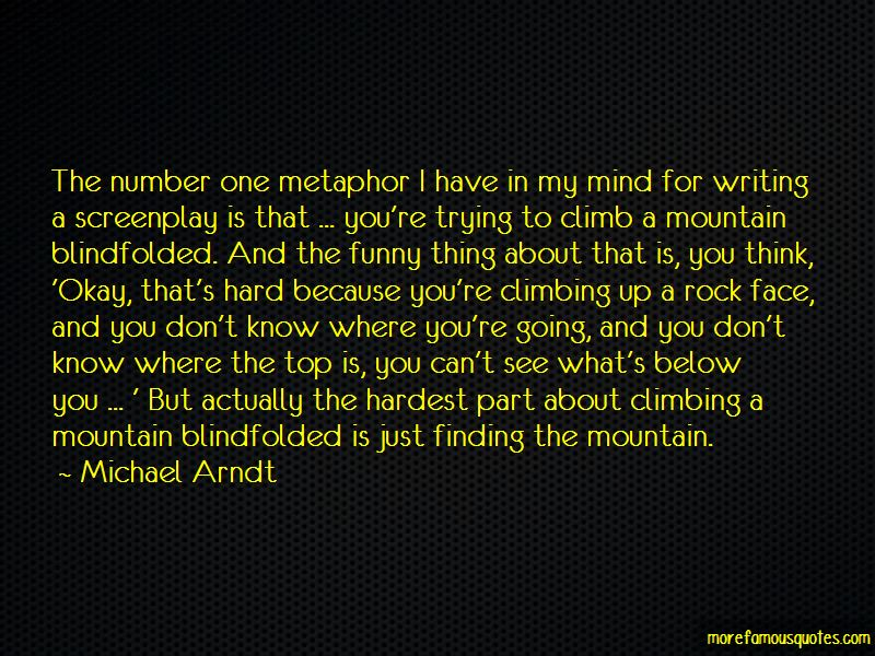 Rock Mountain Climbing Quotes Pictures 3