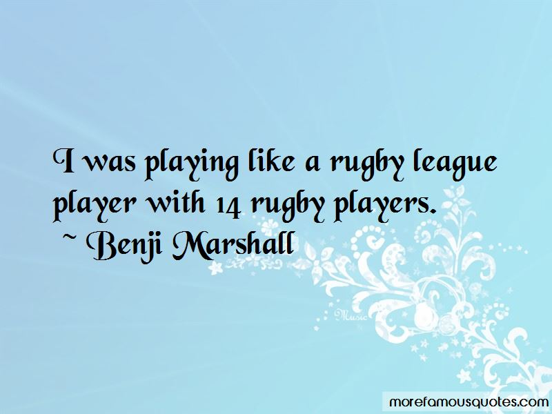 Rugby League Player Quotes