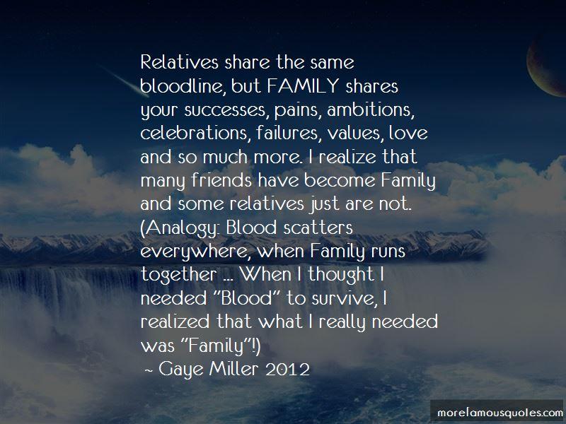 Same Bloodline Quotes