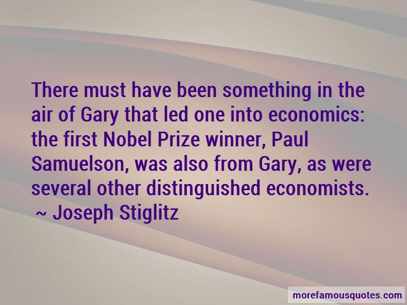Samuelson Economics Quotes