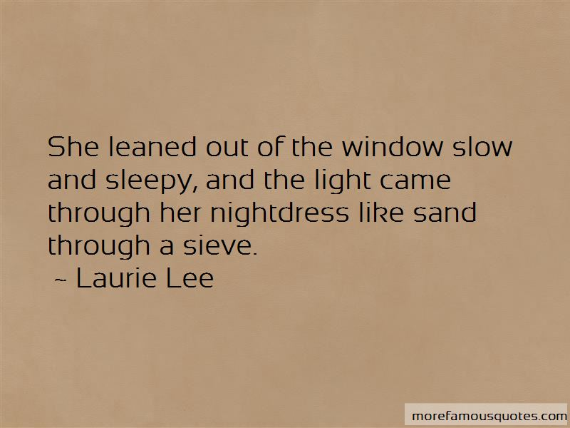 Sand And Sieve Quotes