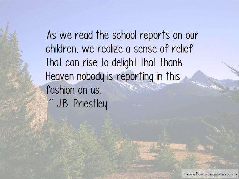 School Reporting Quotes