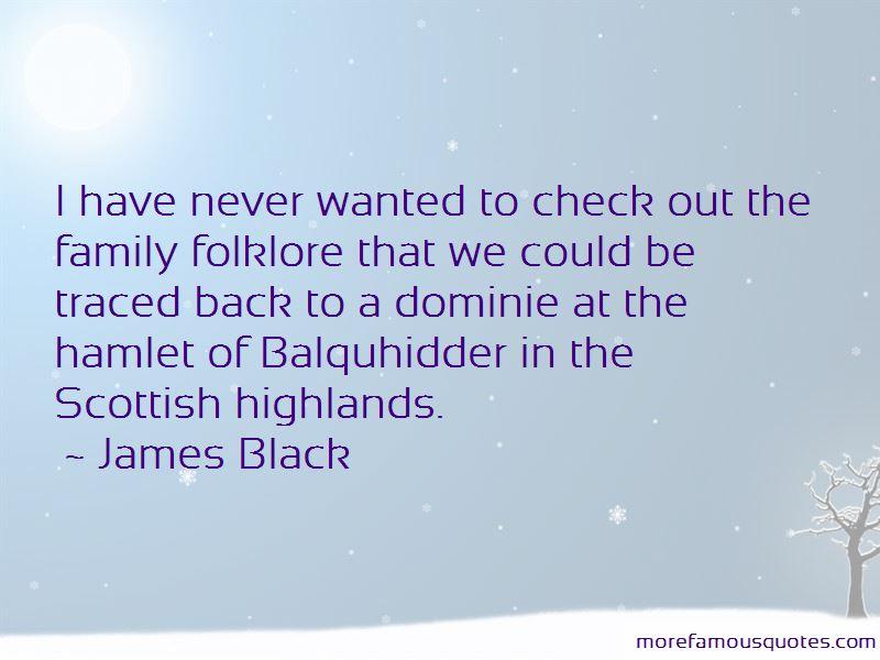Scottish Folklore Quotes