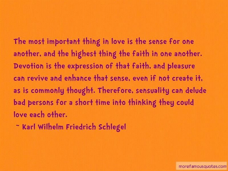 Sense And Sensuality Quotes