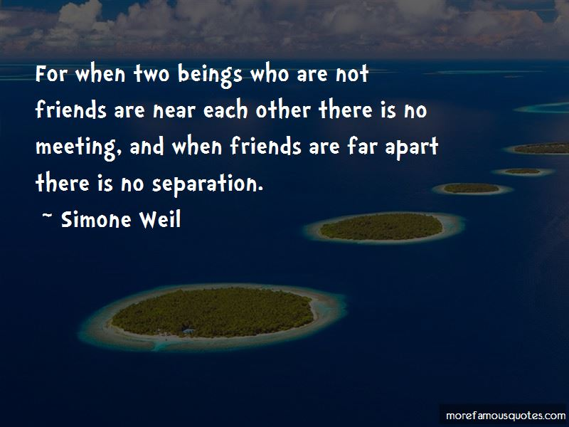 Separation Of Friends Quotes Pictures 2