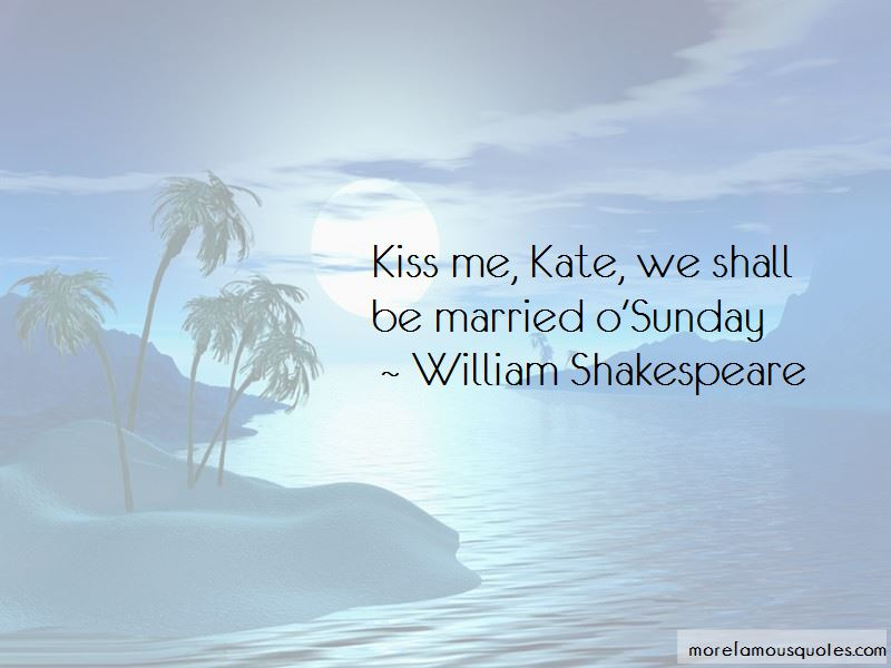 Shall We Kiss Quotes