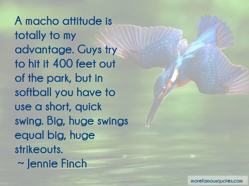 Short Macho Quotes