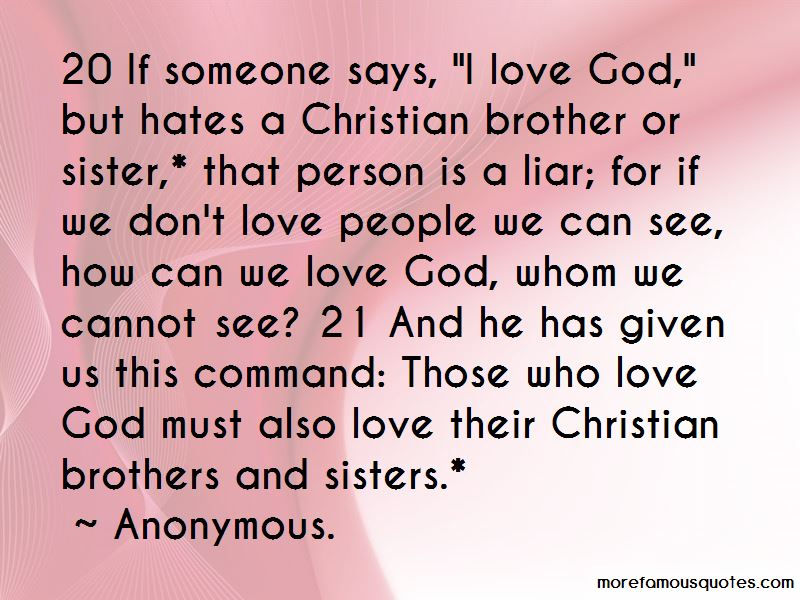 Sister Love For Her Brother Quotes: top 39 quotes about Sister Love
