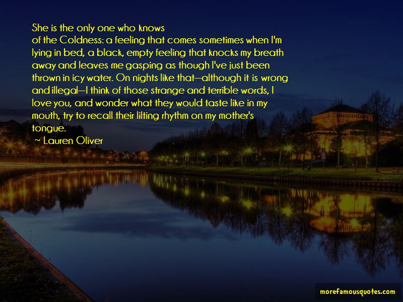 Sometimes I Wonder If You Love Me Quotes