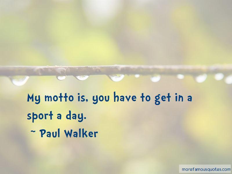 Sport Motto Quotes