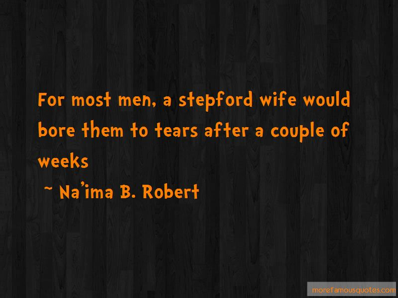Stepford Wife Quotes
